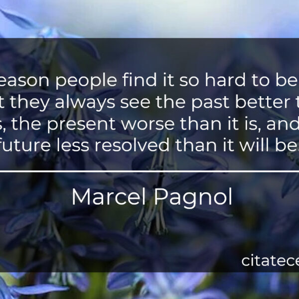 """""""The reason people find it so hard to be happy is that they always see the past better than it was, the present worse than it is, and the future less resolved than it will be."""""""